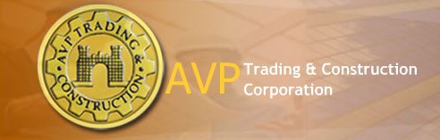 Welcome at the site of AVP Construction